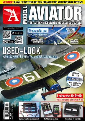 Modell AVIATOR Ausgabe 05/2015