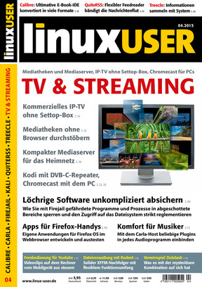 Linux User 04/2015