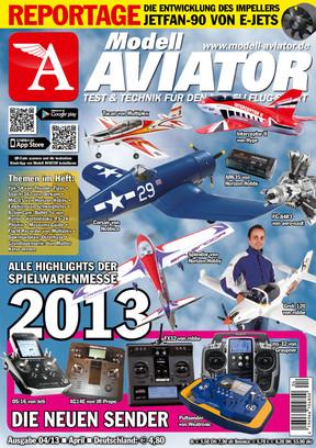 Modell AVIATOR Ausgabe 04/2013