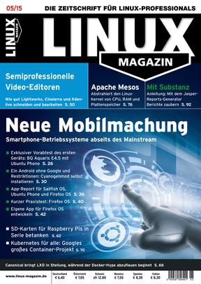 05/2015 Linux Magazin