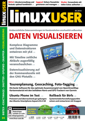 Linux User 05/2015