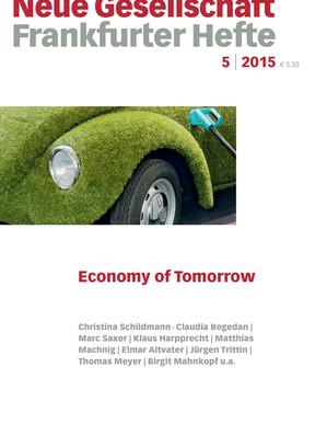 5 | 2015 –  Economy of Tomorrow