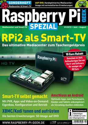 Raspberry Pi Geek Special 01/15