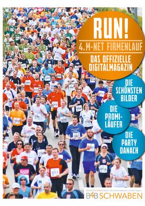 RUN! Das Digitalmagazin zum 4. M-net Firmenlauf
