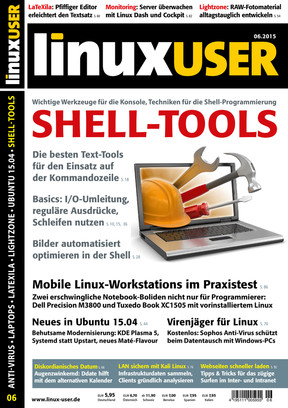 Linux User 06/2015