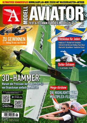 Modell AVIATOR Ausgabe 08/2015