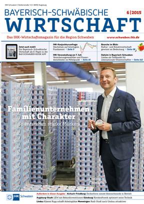 Bayerisch-Schwäbische Wirtschaft 6/2015