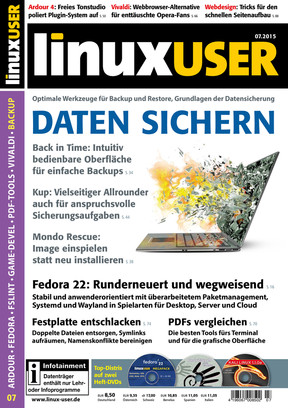 Linux User 07/2015