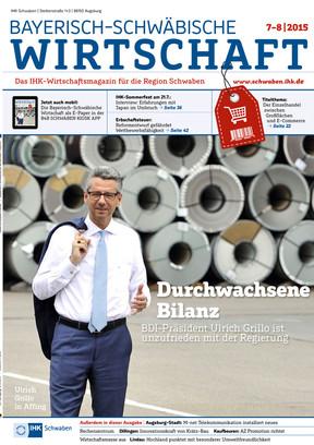 Bayerisch-Schwäbische Wirtschaft 7-8/2015