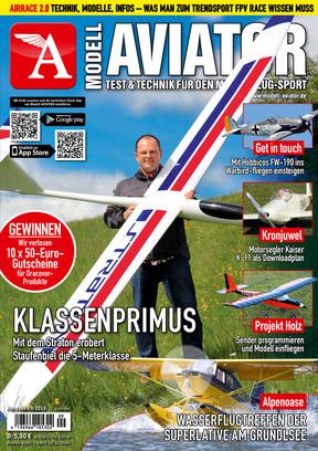 Modell AVIATOR Ausgabe 09/2015