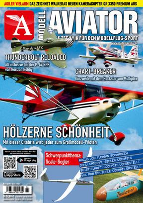 Modell AVIATOR Ausgabe 10/2015