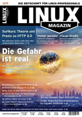 10/2015 Linux Magazin