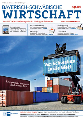 Bayerisch-Schwäbische Wirtschaft 9_2015