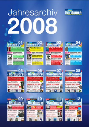 Jahresarchiv PCGH 2008