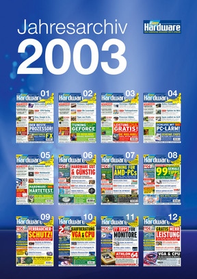 Jahresarchiv PCGH 2003
