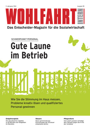 Wohlfahrt Intern 7.8/2014