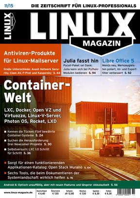 11/2015 Linux Magazin