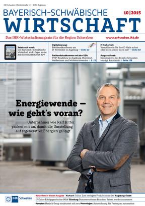 Bayerisch-Schwäbische Wirtschaft 10/2015