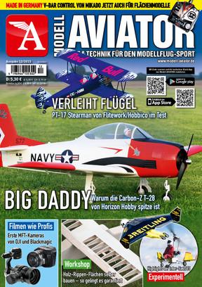 Modell AVIATOR Ausgabe 12/2015