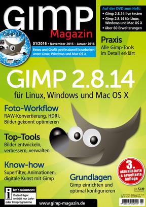 GIMP Magazin 01/2016