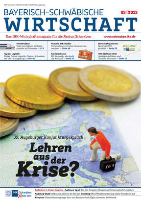 Bayerisch-Schwäbische Wirtschaft 3/ 2013