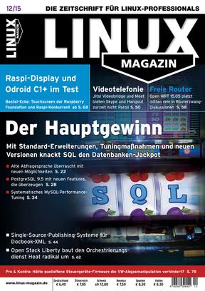 12/2015 Linux Magazin