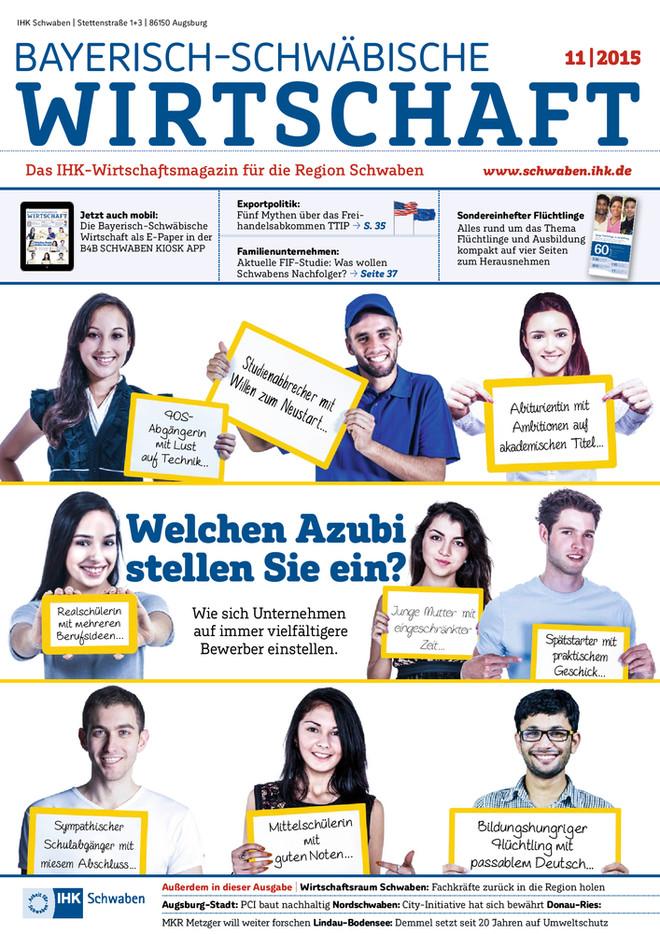 Bayerisch-Schwäbische Wirtschaft 11/2015