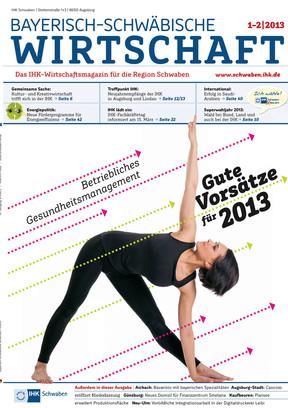 Bayerisch-Schwäbische Wirtschaft 1-2 | 2013