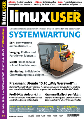 Linux User 12/2015