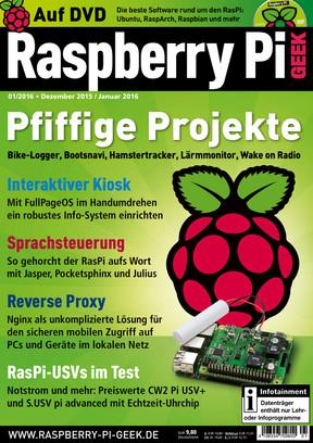 01/2016 Raspberry Pi Geek