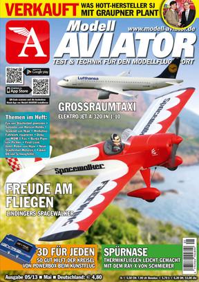 Modell AVIATOR Ausgabe 05/2013