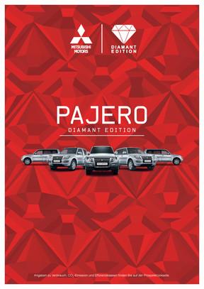 Pajero Diamant Edition Sondermodellprospekt 08/2015