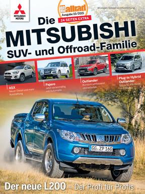Die Mitsubishi SUV- und Offroad-Familie Beilage