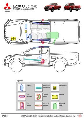 L200 Club Cab Rettungsdatenblatt 07/2015