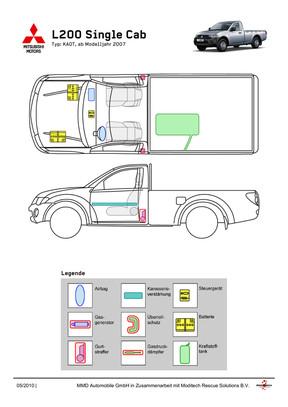 L200 Einzelkabine Rettungsdatenblatt 05/2010