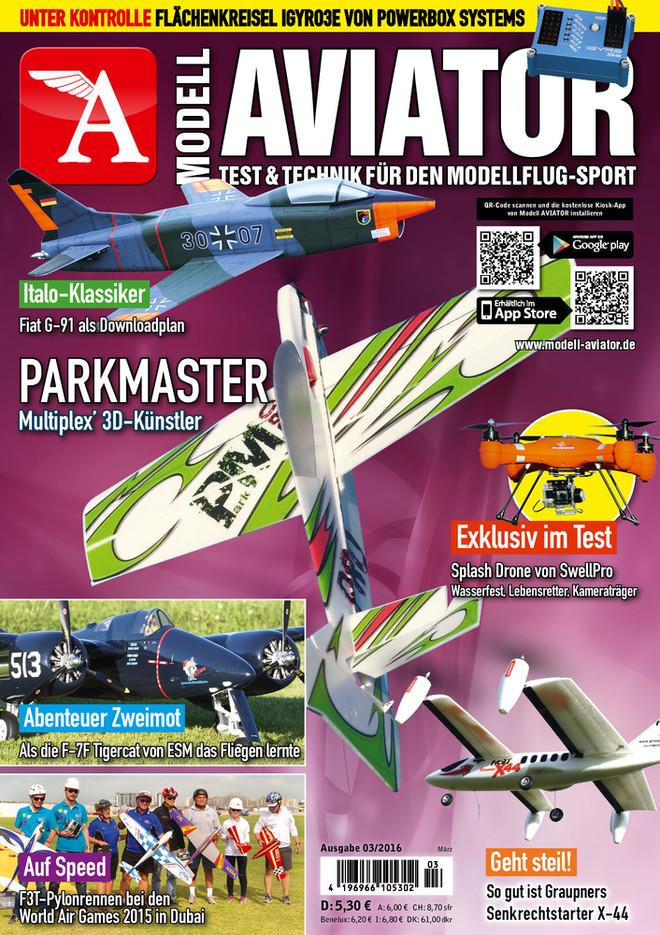 Modell AVIATOR Ausgabe 03/2016