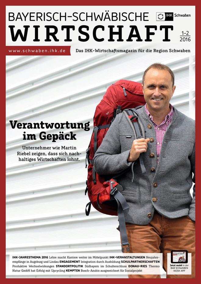 Bayerisch-Schwäbische Wirtschaft 1-2/2016