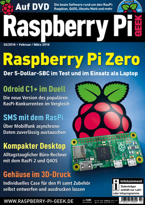 02/2016 Raspberry Pi Geek