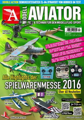 Modell AVIATOR Ausgabe 04/2016