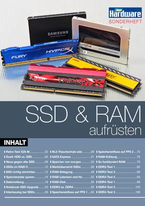 Sonderheft: SSD + RAM aufrüsten