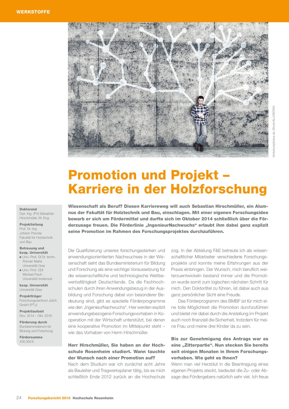 Forschungsbericht 2015