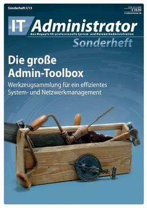 Sonderheft I/2015 - Die große Admin-Toolbox