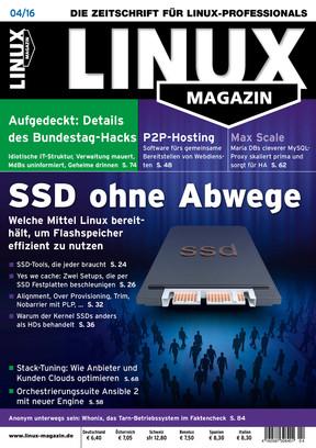 04/2016 Linux Magazin