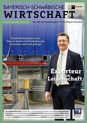 Bayerisch-Schwäbische Wirtschaft 3/2016