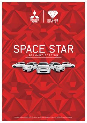 Space Star Diamant Edition Sondermodellprospekt 08/2015