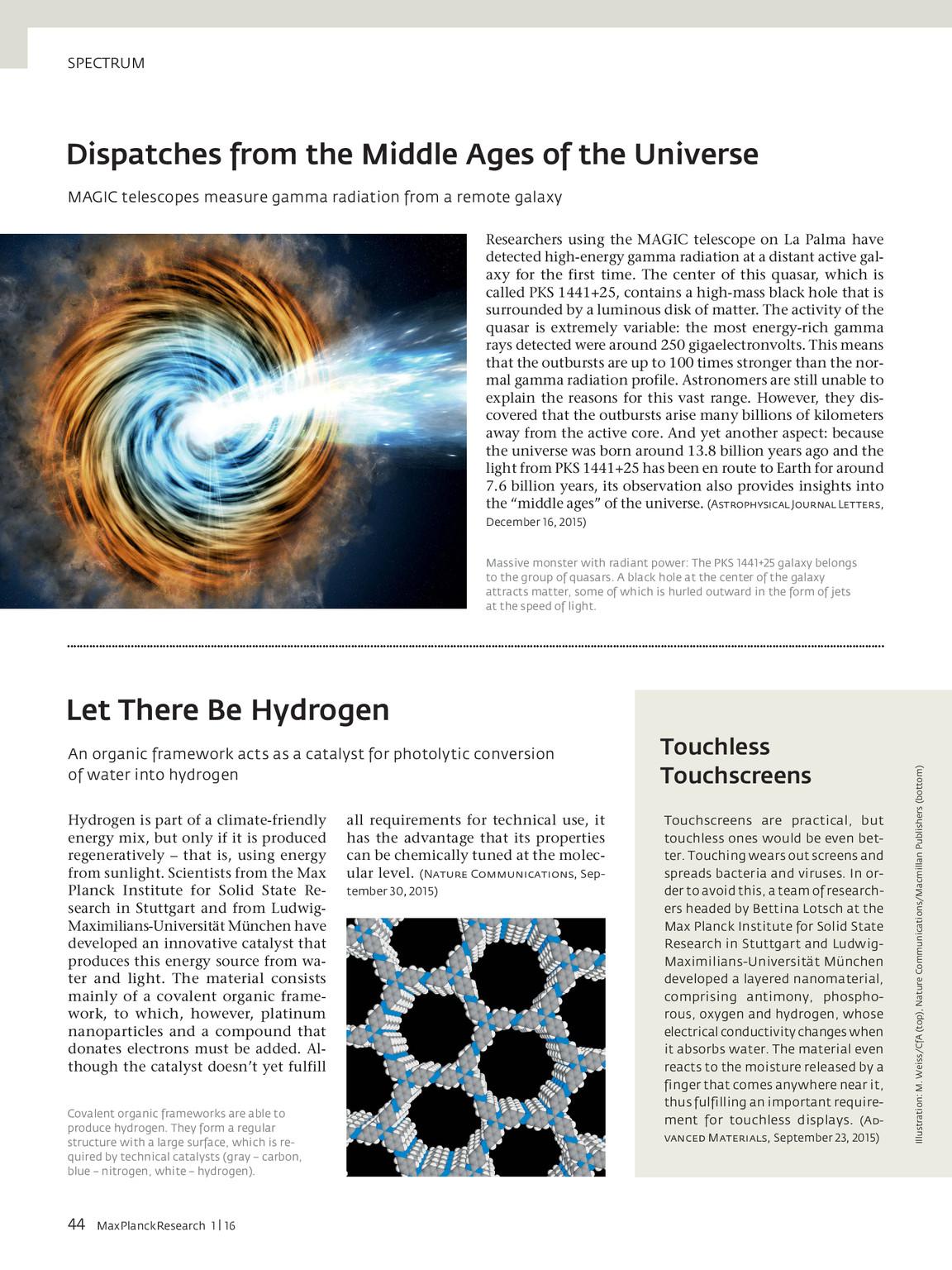 MPR 1/16 | Max Planck Research