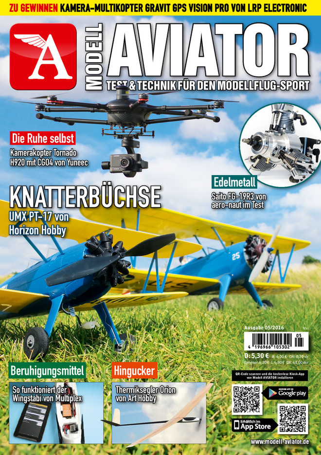 Modell AVIATOR Ausgabe 05/2016
