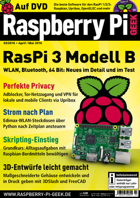 Raspberry Pi Geek 03/2016