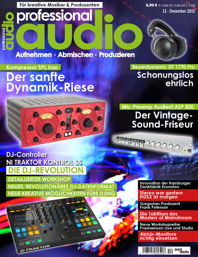 Professional audio 12/2015