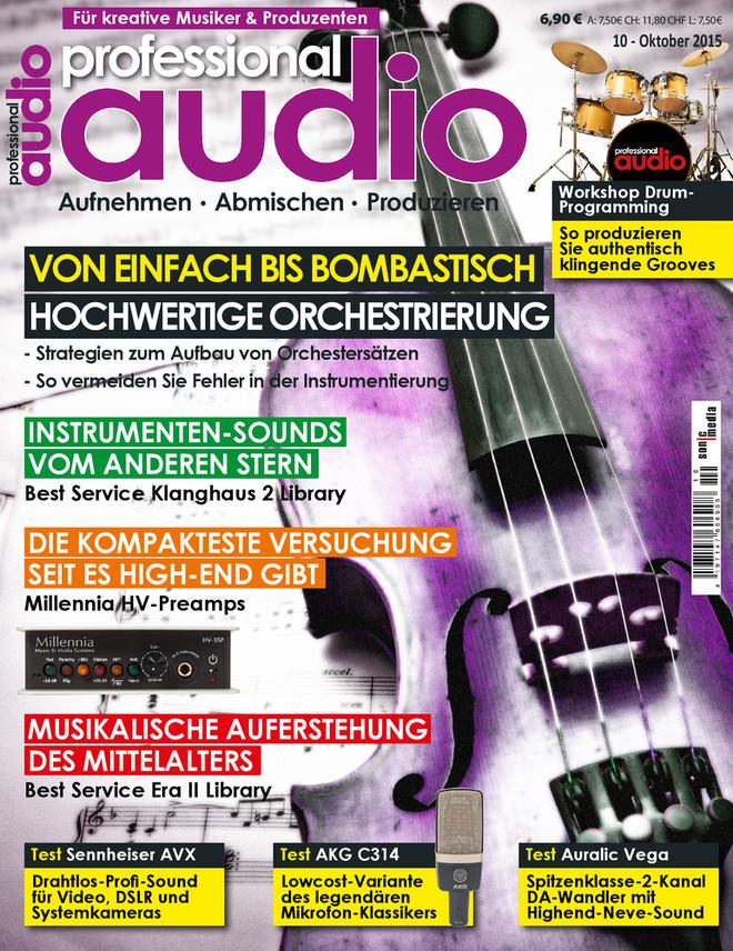 Professional audio 10/2015